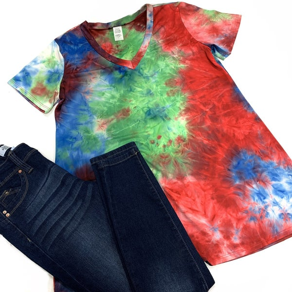 The Avengers TieDye Top