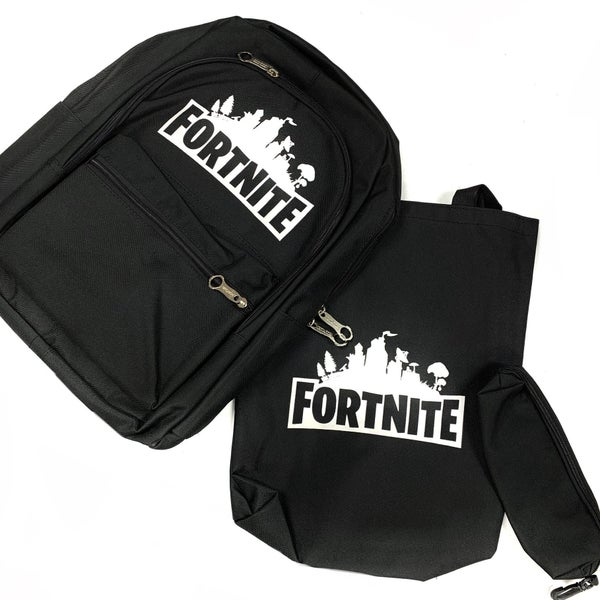 Fortnite Backpack Set