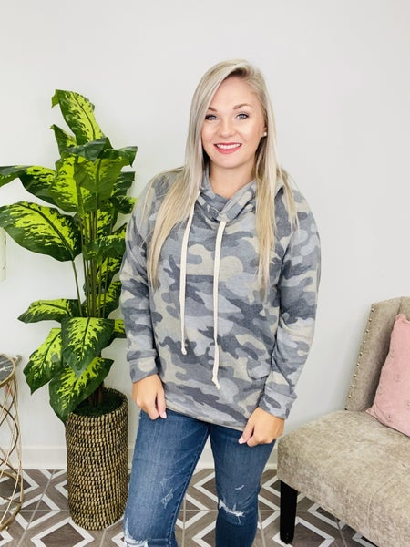 Hide and Seek Camo Hoodie