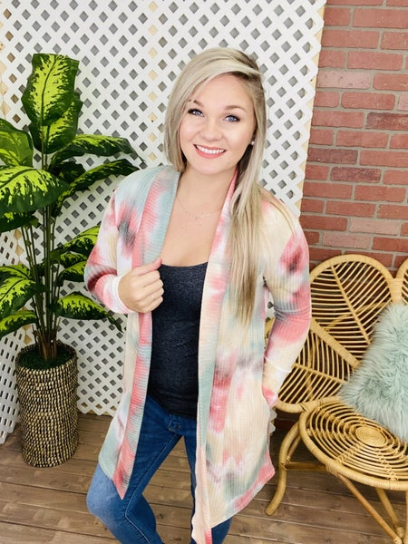 Missing These Days TieDye Cardigan