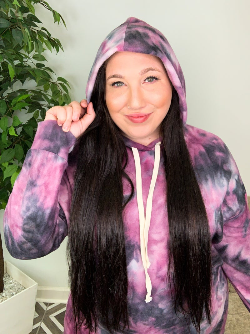 Put A Spell On You TieDye Hoodie