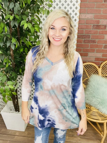 Within The Mist TieDye Top