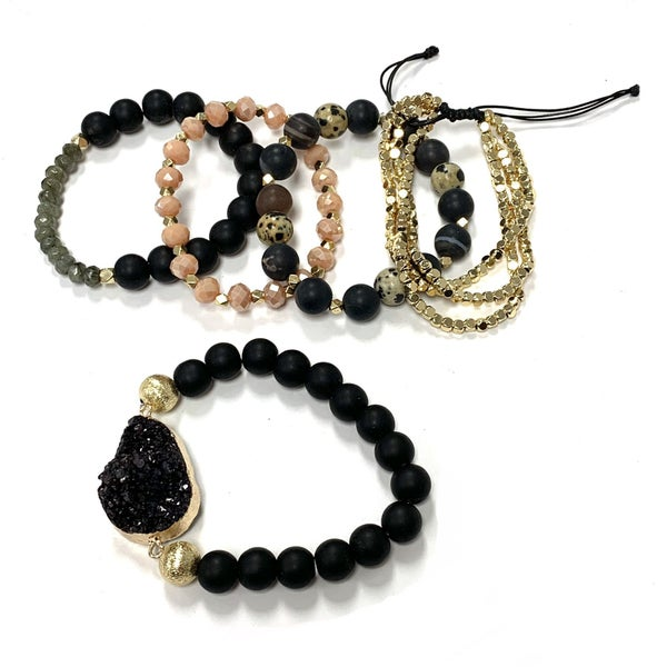 Here & Now Druzy Stack