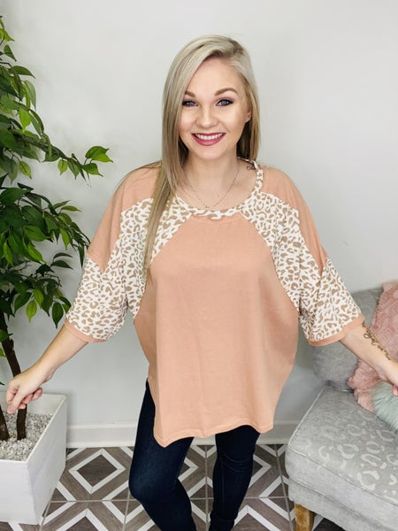 See It My Way Leopard Top