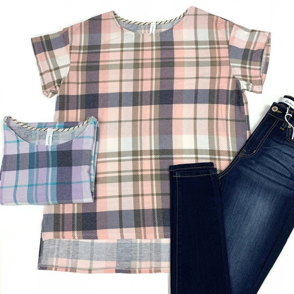 Need To Know Plaid Top