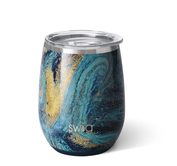 Swig Starry Night Stemless Wine Cup