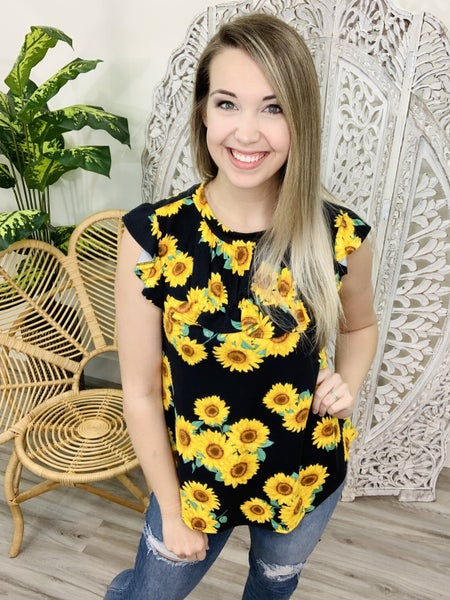 Picked The Best Sunflower Tank Top