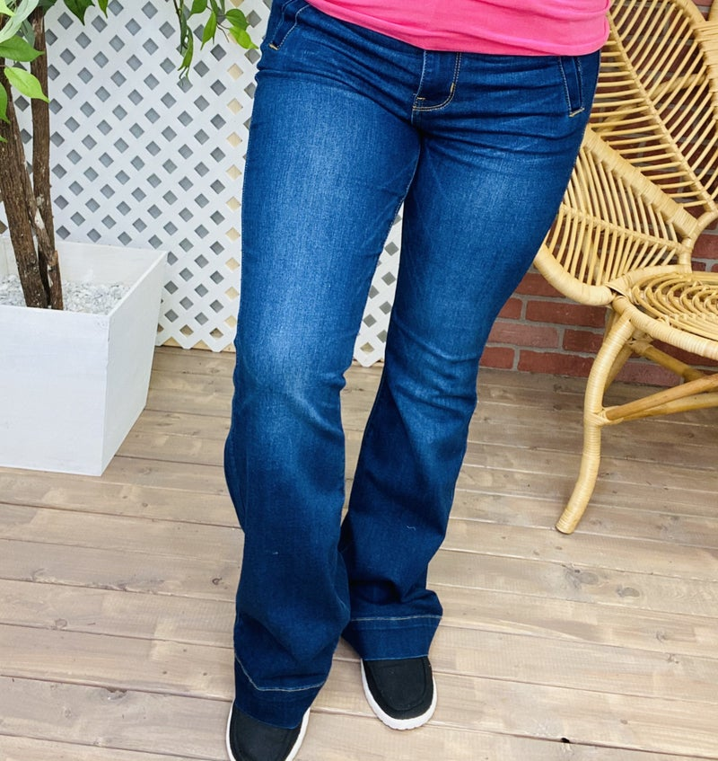 "Judy Blue ""Ring My Bell Bottoms"" Flared Jeans"