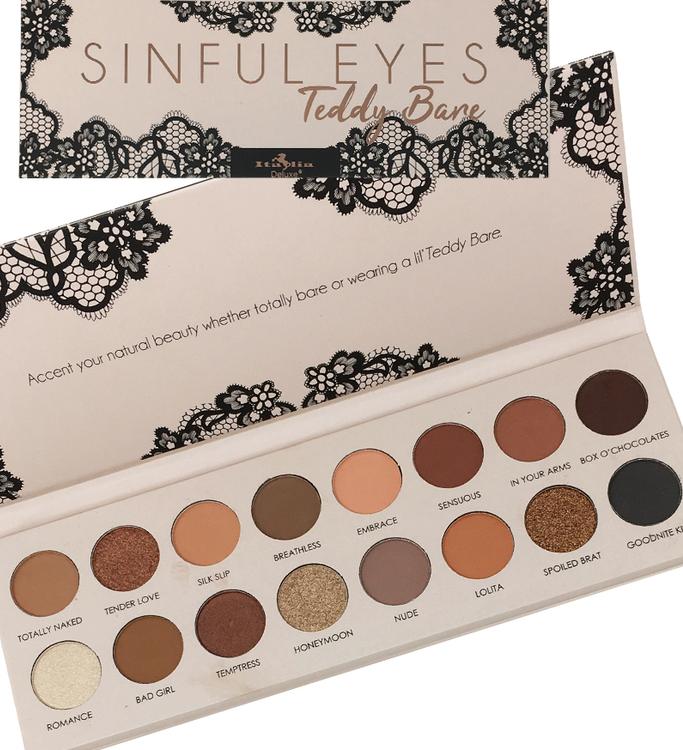 Sinful Eyes Eyeshadow Palette