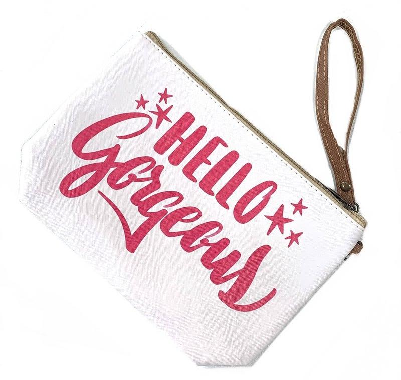 Hello Gorgeous Makeup Bag