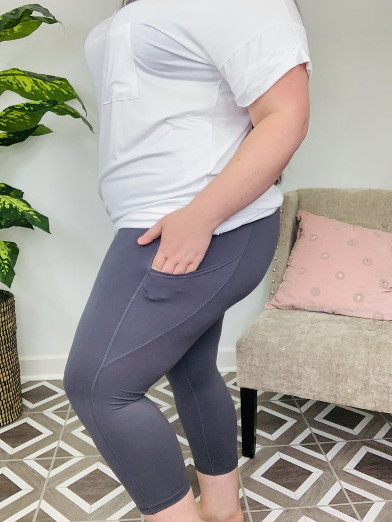 Rae Mode Capri Pocket Leggings