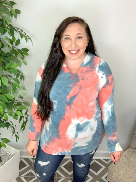 Run Around Town TieDye Hoodie