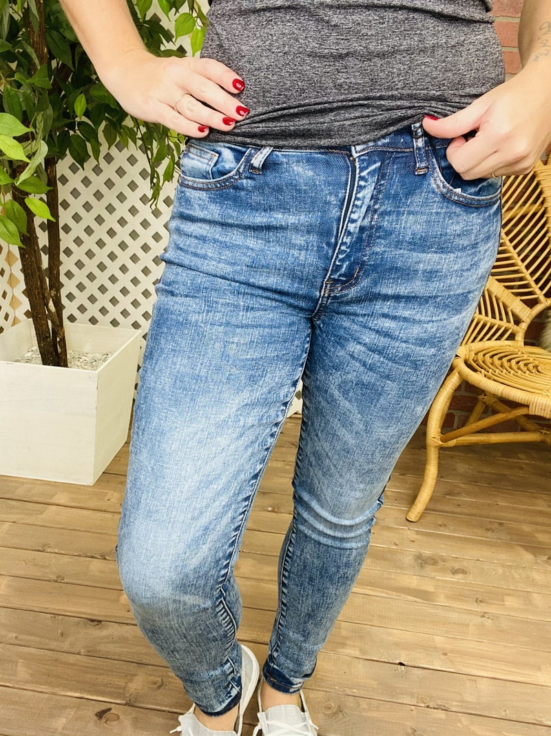 "Judy Blue ""It's A New Day"" Skinny Jeans"