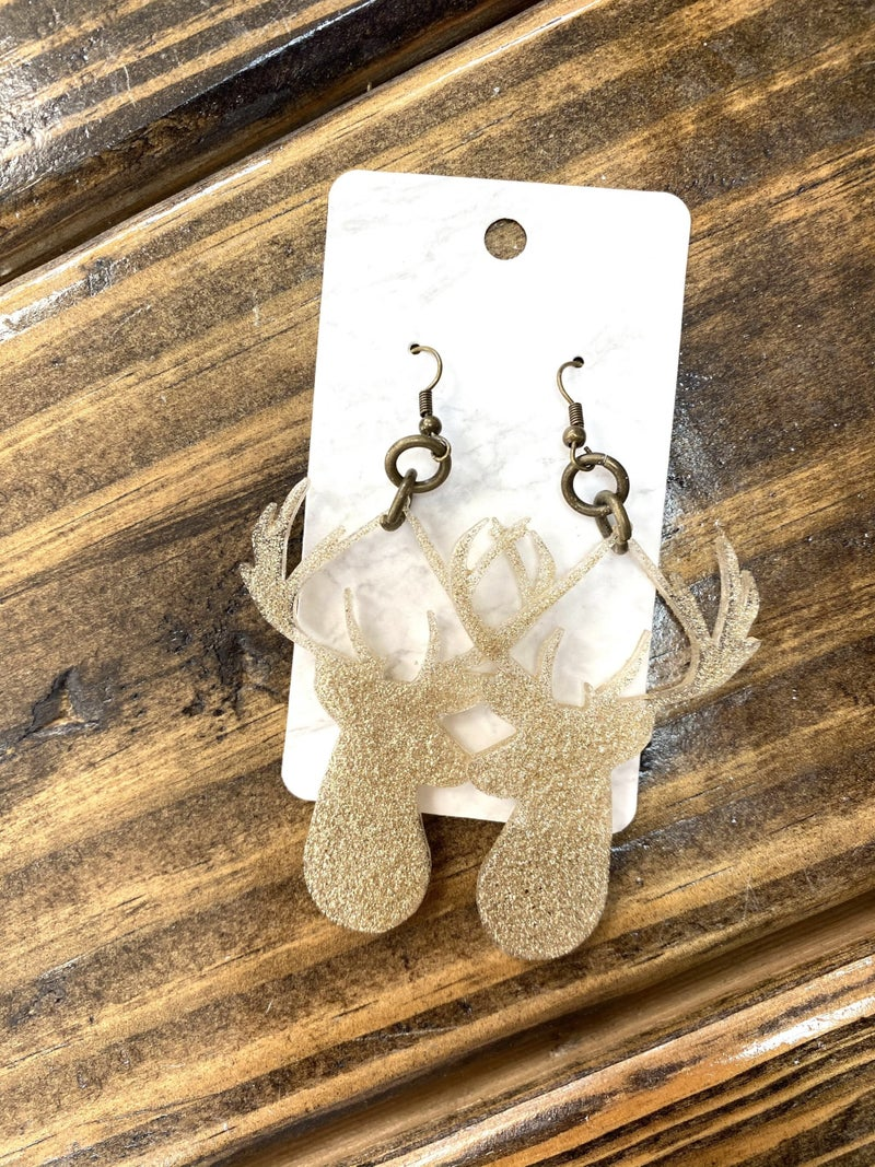 Winter Reindeer Earrings