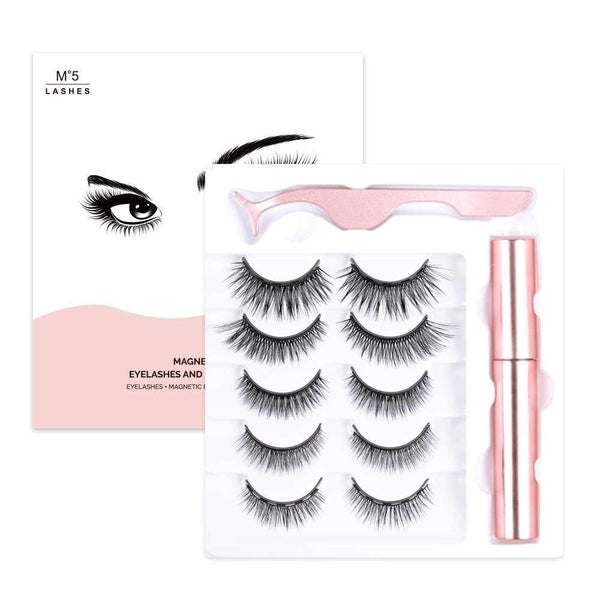 Magnetic Eyelash Kit (5 Pack)