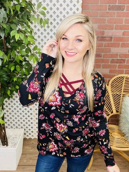 Think Out Loud Floral Top