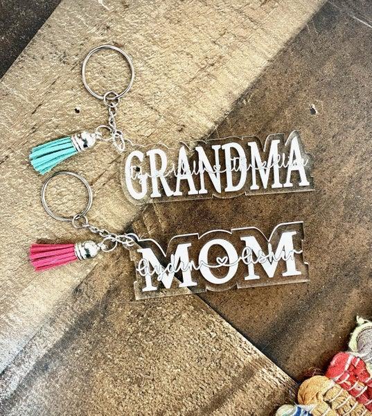 Custom Mama Keychains
