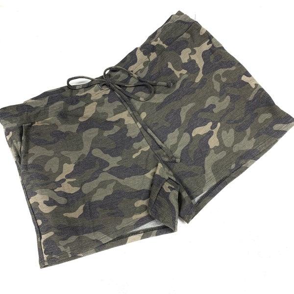 Nothing On You Camo Shorts