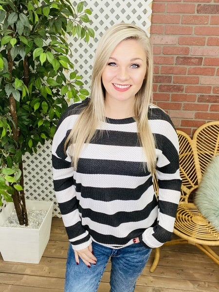 Second Chance Striped Top