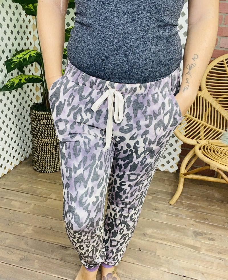 Spotted In Pursuit Leopard Lounge Pants