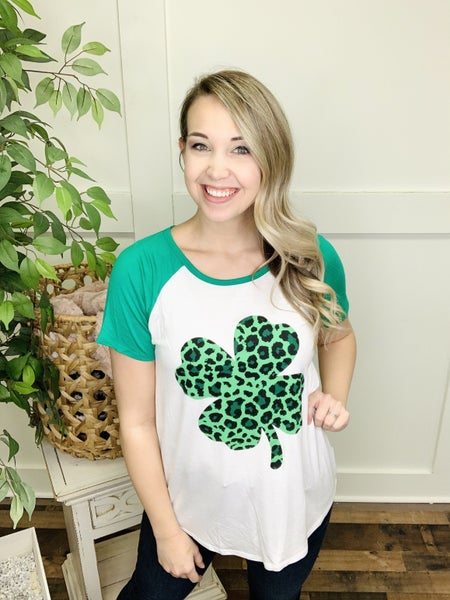 Luck Of The Wild Shamrock Top