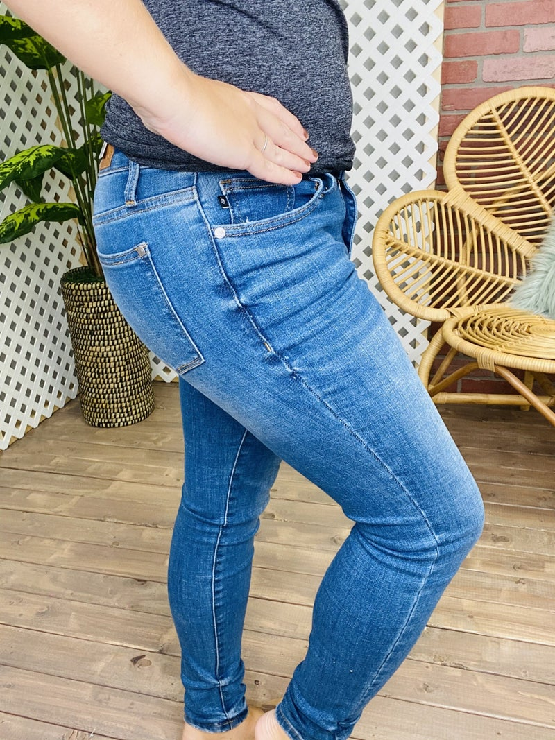 """Judy Blue """"See You Tonight"""" Non-Distressed Jeans"""