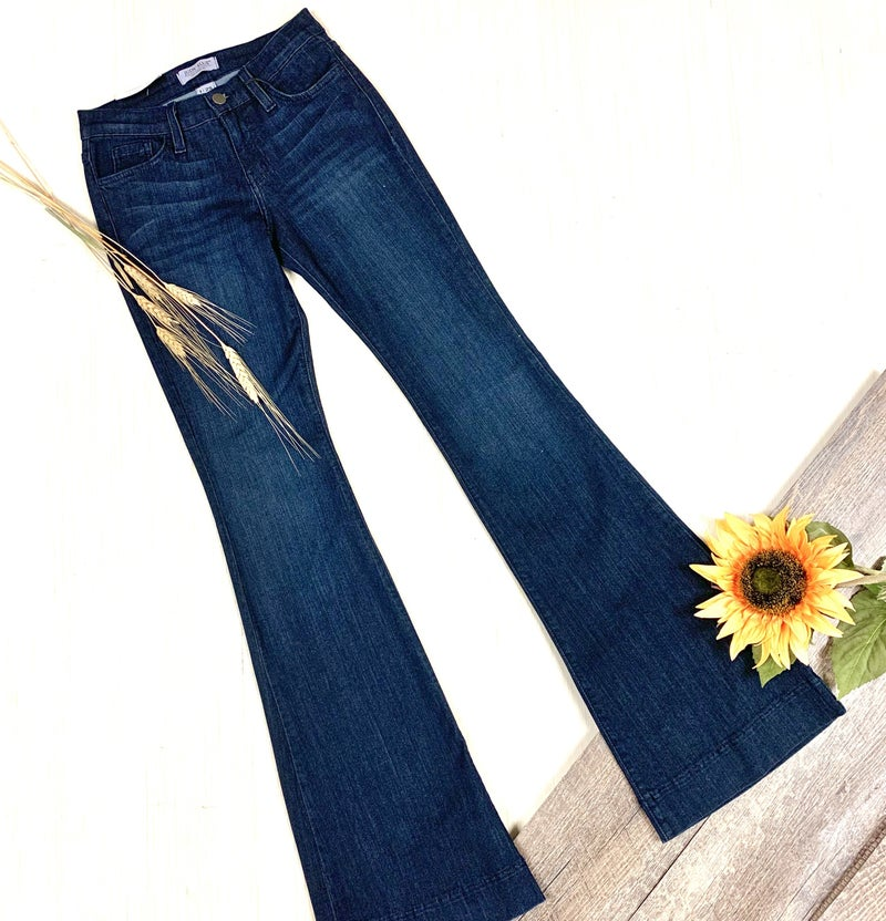 Judy Blue Fitted Flare Trouser