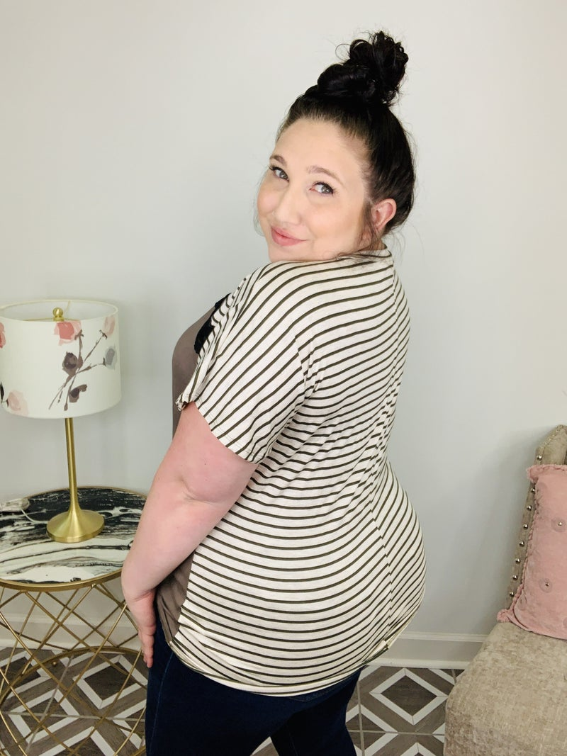 Lace Around the Stripes