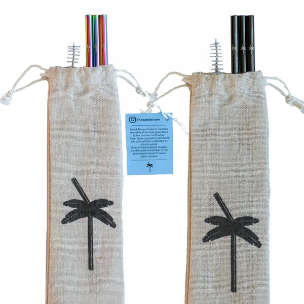 Marine Life Stainless Straws