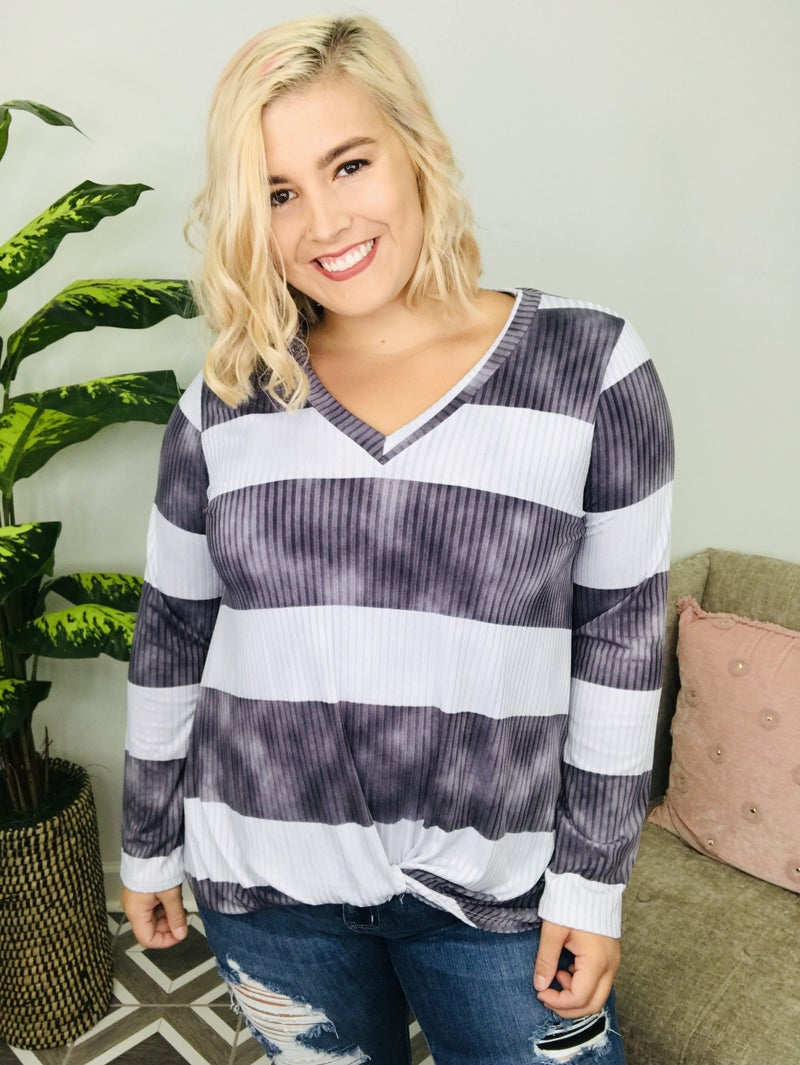 Get Where You're Going Striped Top