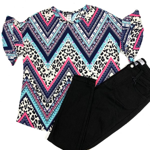 Claim Your Pride Chevron Top