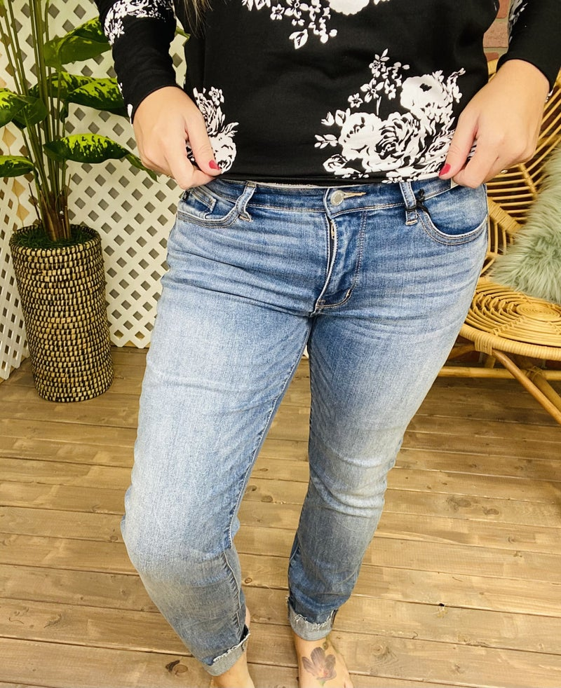 "Judy Blue ""All Or Nothing"" Boyfriend Jeans"