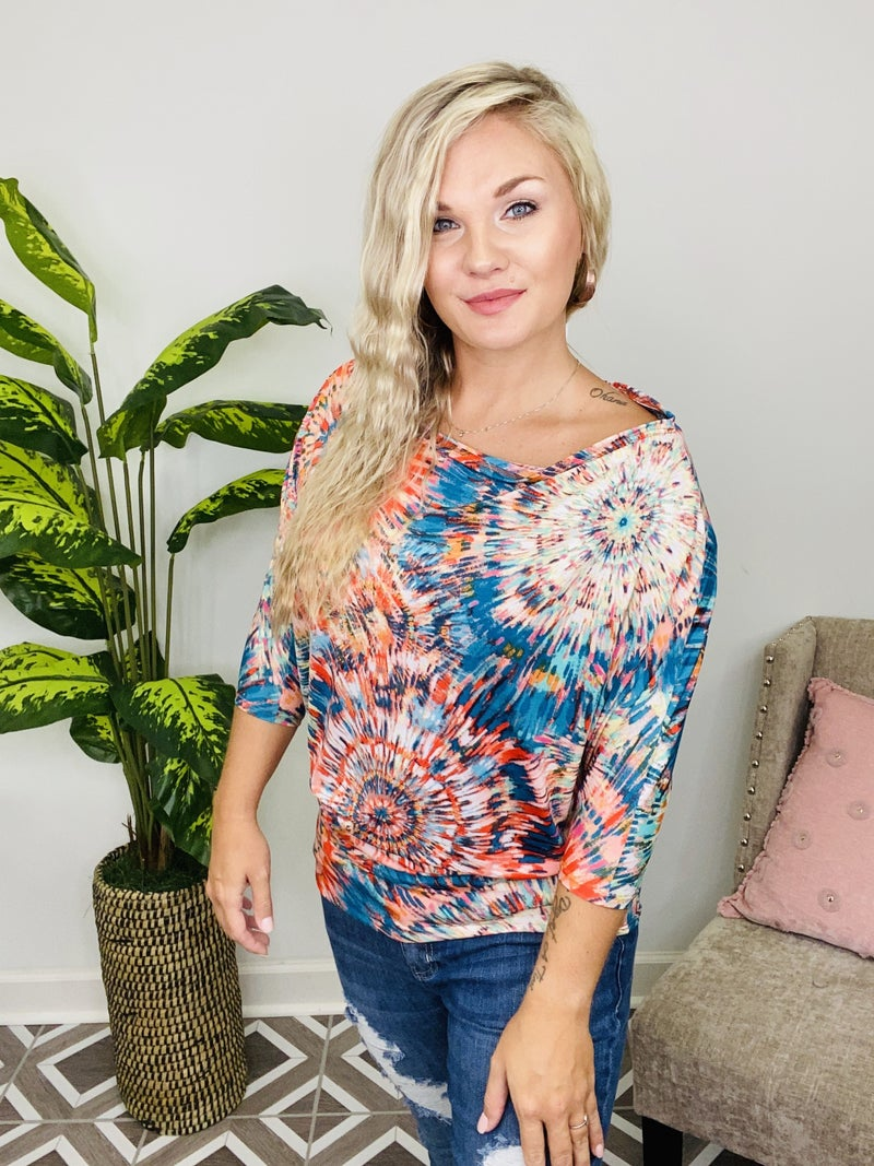 Paint The Night Away Top