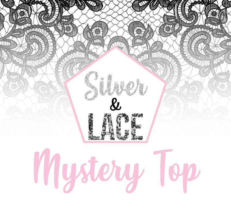 Silver & Lace Mystery Top