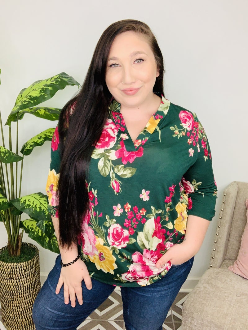 Make Me Yours Floral Top