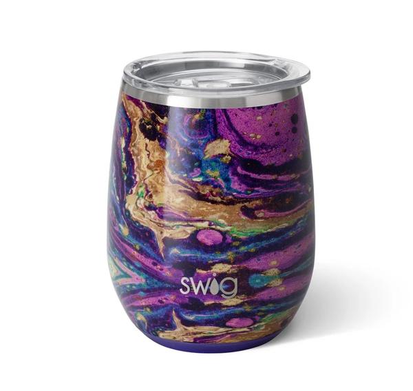Swig Purple Reign Stemless Wine Cup