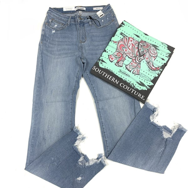 "Judy Blue ""Bite Me"" Boot Cut Jeans"