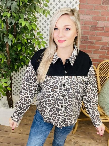 Light Weight Leopard Jacket