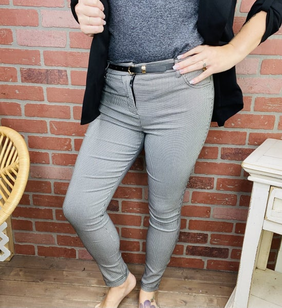 Pace Yourself Houndstooth Pants