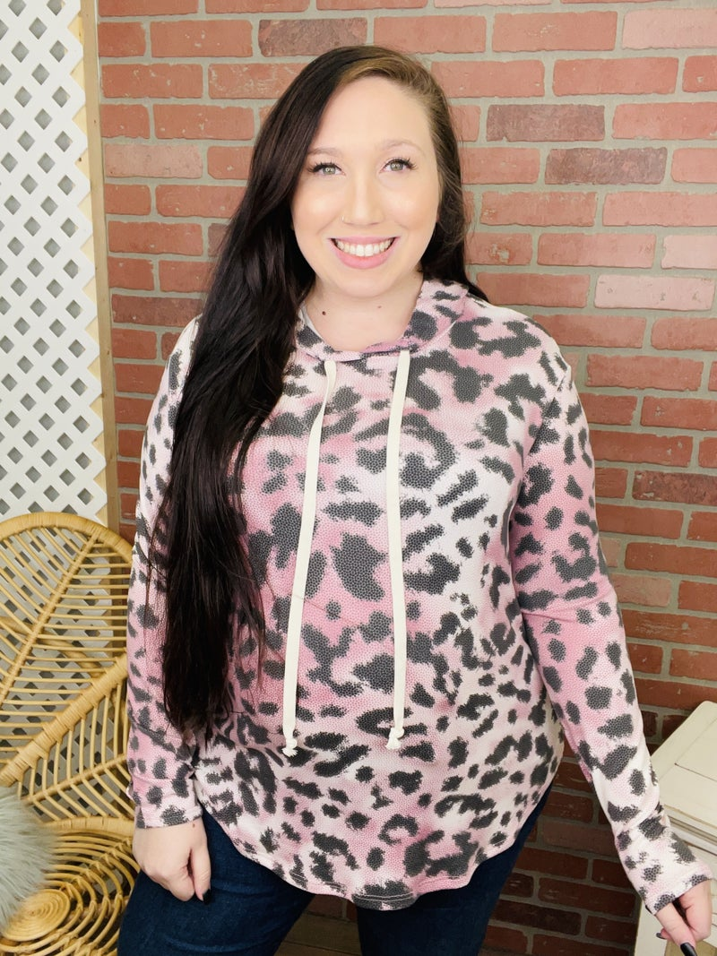 Dare Me To Change Leopard Hoodie