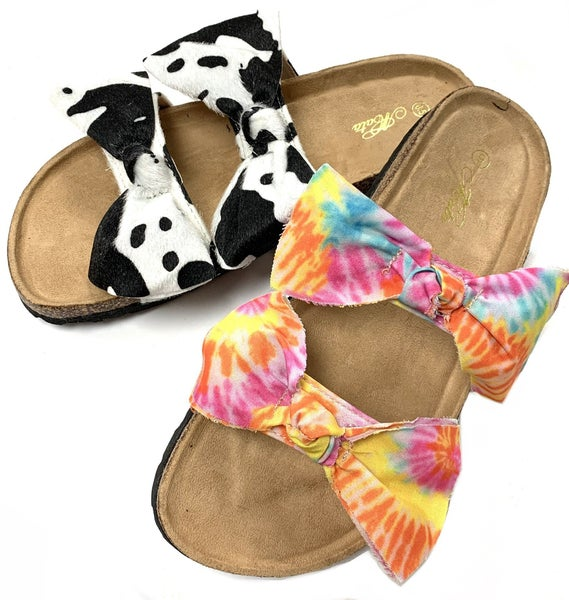 Double Bow Slip Ons
