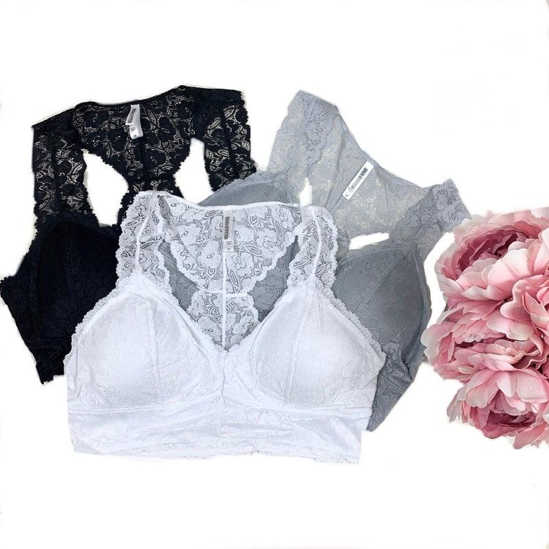Lace Bralette (4 Colors)