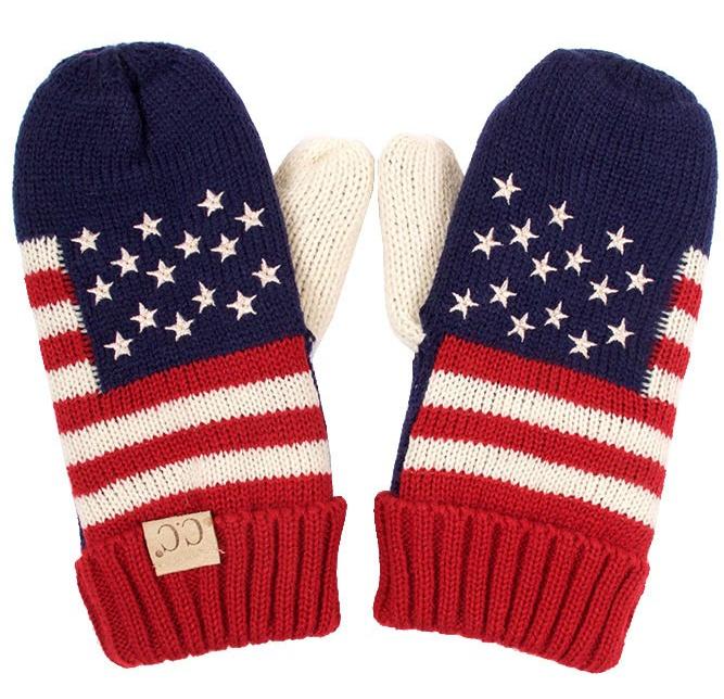 CC American Flag Kids Gloves