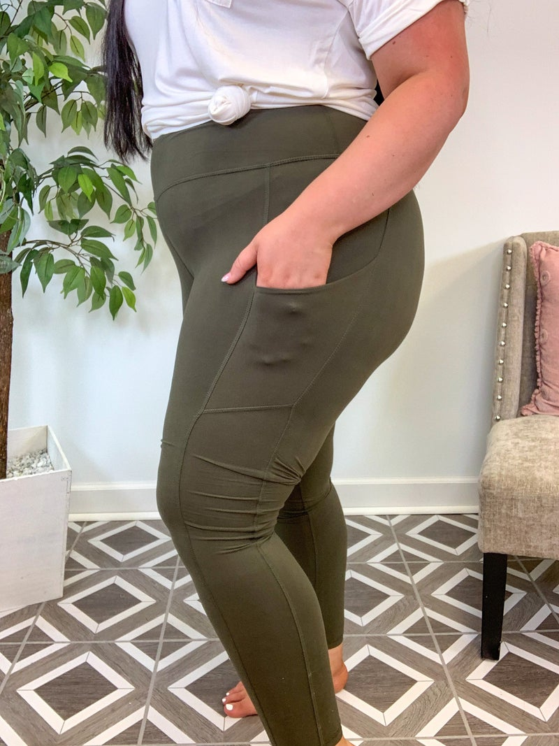 Leggings with Side Pockets (7 Colors!)