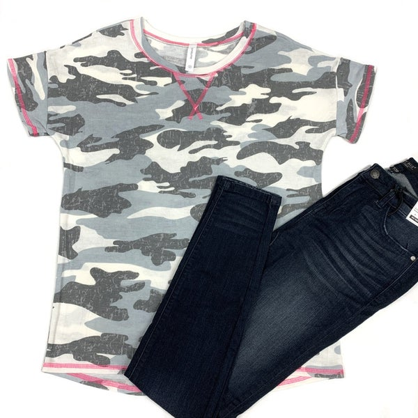 More Power To You Camo Top