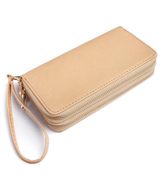 Double Zip Around Wallet