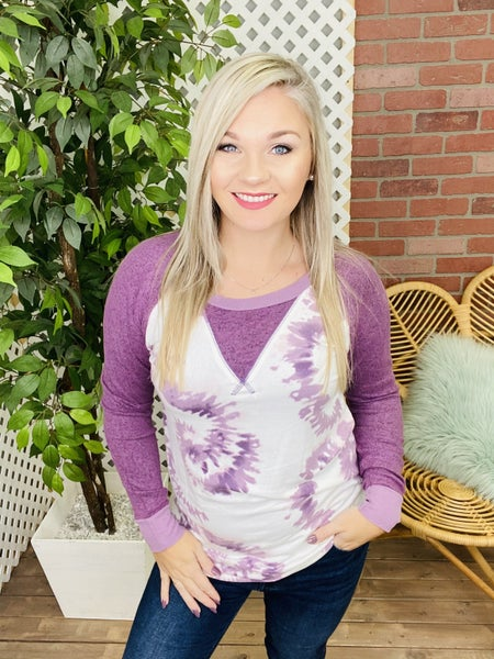 A Casual Day Out Raglan Top
