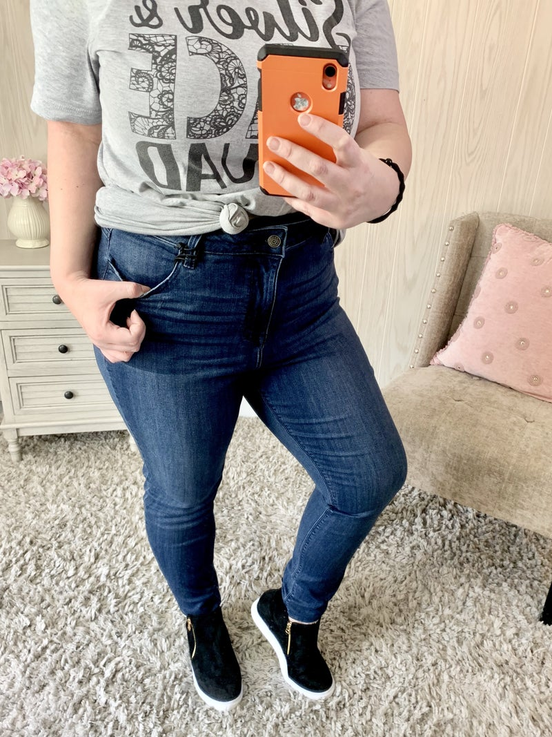 Cello High Rise Skinny Jeans