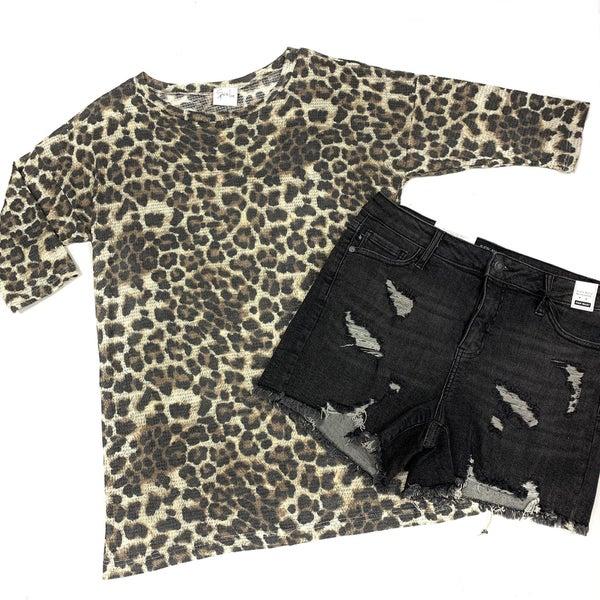 Prowlin' Ain't Easy Leopard Top