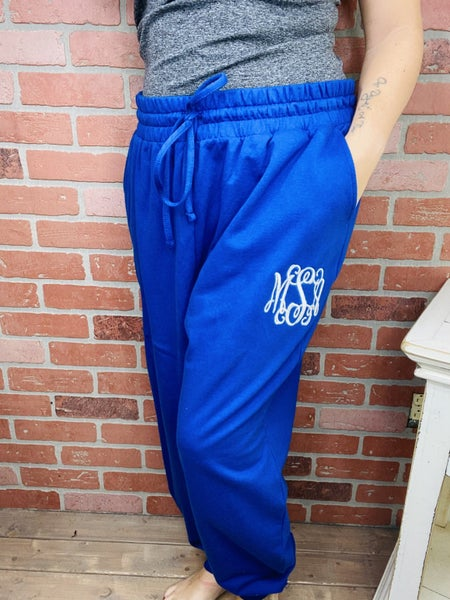 Custom Embroidered Joggers